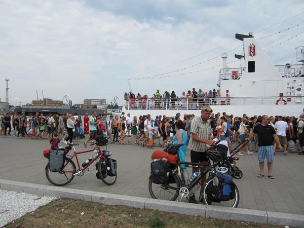 vier fahrräder transportieren